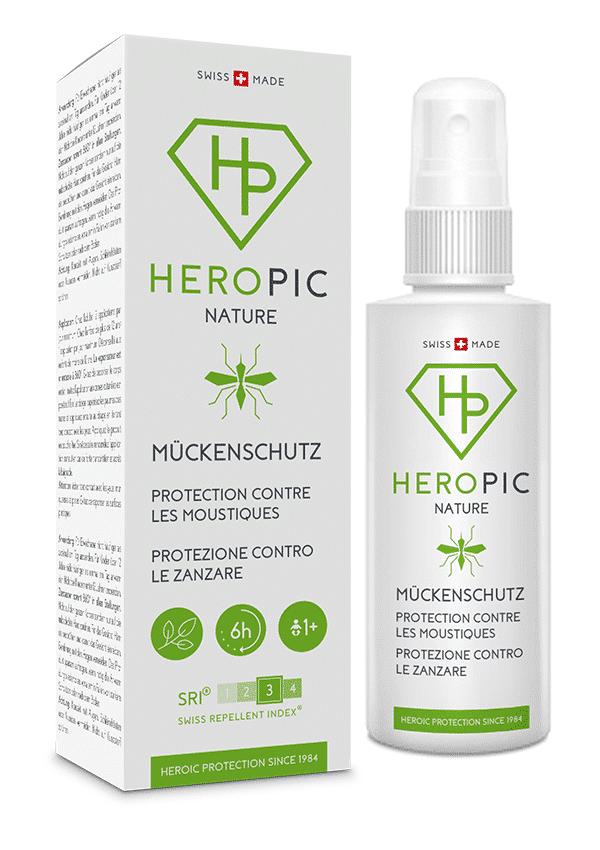 Protezione contro le zanzare HEROPIC NATURE